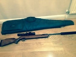 Walther LGV Master plus scope and bag. 22 Air Rifles For Sale in ...