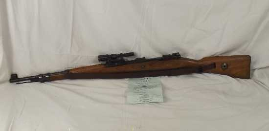 WW2 Deactivated 1942 BCD Produced K98 Mauser with ZF-41 Sniper Scope  Rifles