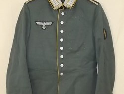 WW2 German 3rd Reich Signals Parade Tunic Of A Unteroffizier 27th Regiment