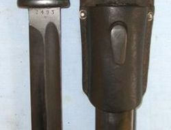 Jos Corts, SolingenRARE MAKER, Nazi Marked, Early WW2 1939 Dated German K98 Maus  Bayonets