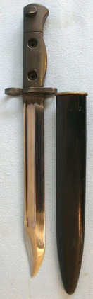 Canadian C1 SLR Bayonet and Scabbard.  Blades
