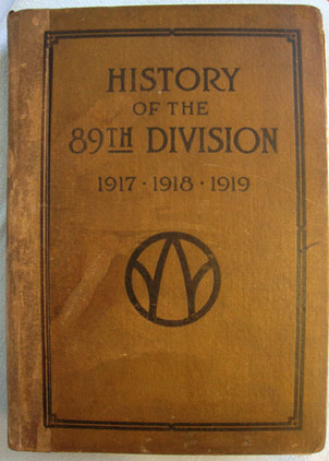 WW1 American Expeditionary Force 'History Of The 89th Division 1917.1918.1919' George H. English Accessories