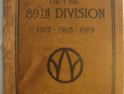 WW1 American Expeditionary Force 'History Of The 89th Division 1917.1918.1919' George H. English