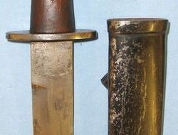 Italian Fighting Knife Constructed In Part from The 2nd Pattern Italian fascist,  Knives