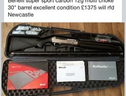 Benelli Carbon fibre 12 Bore/gauge Shotgun