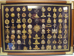 Collection of British Cap Badges Collection of British Cap Badges