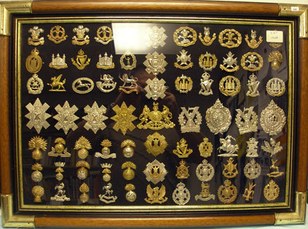 Collection of British Cap badges Collection of British Cap badges  Accessories