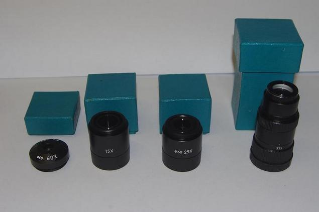 Japanese Kowa TS 7-8-9 eyepieces Accessories