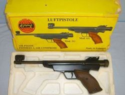 Original Model 6G .177 Calibre, Break Action, Target Air Pistol.  .177  Air Pistols