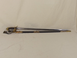 Victorian Royal Navy Warrant Officers Sword and Scabbard  Swords