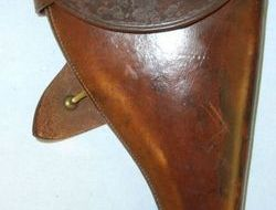 Cooper Webb Jones & Co Walsall Sam Browne Holster For Webley & Enfield MK VI .455