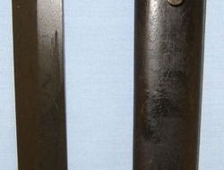 South African No.9 Bayonet By Armscor Subsiduaries For No.4 SMLE Rifles & Scabba  Bayonets