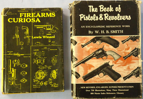 Firearms Curiosa by Lewis Winant and The Book Of Pistols & Revolvers By W.H.B.Sm Firearms Curiosa by Lewis Winant and The Book Of Pistols & Revolvers By W.H.B.Sm Accessories