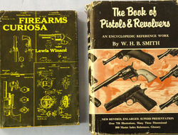 Firearms Curiosa by Lewis Winant and The Book Of Pistols & Revolvers By W.H.B.Sm Firearms Curiosa by Lewis Winant and The Book Of Pistols & Revolvers By W.H.B.Sm