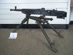 WW2 Era Old Spec 1937-41 Czech ZB-37 Heavy Machine Gun and Tripod...