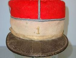 French Army Officer WW1 Era French Army Officer's Kepi With Number '1' Cap Badge