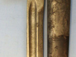 Turkish M1935 Bayonet and Scabbard.  Bayonets