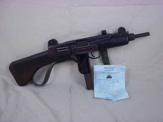 !!!SALE TEMPORARILY SUSPENDED!!! 1961 Israeli 9mm MP UZI Submachine Gun New Spec  Other Military Guns