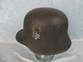 WW1 Austrian Stahlhelm Helmet Reused in by Nazi Germany in WW2 for sale