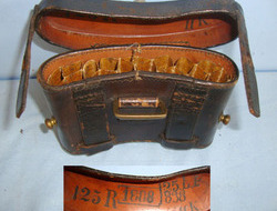 Mauser 1871/84 11mm Rifle Hard Case Ammunition Pouch/ Carrier With Several Regim Imperial German Mauser 1871/84 11mm Rifle Hard Case Ammunition Pouch/ Carrier Wi