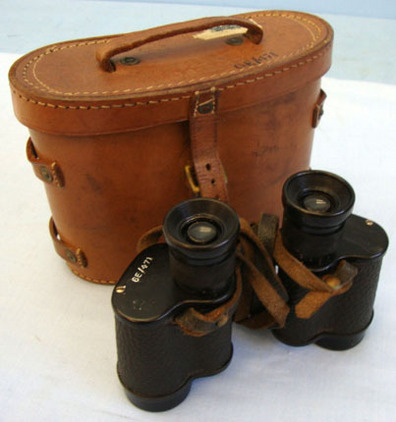 Watson & Baker RAF, Air Ministry 6E/471 Binoculars By Watson & Baker & Fitted Case. Accessories