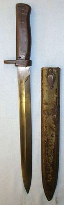 Imperial German Model 1888/98 Ersatz Bayonet And Scabbard  Blades
