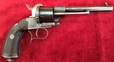 Lefaucheaux 6 shot large frame 13 mm antique pinfire revolver. Ref 7632 13 mm for sale