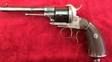 Lefaucheaux 6 shot large frame 13 mm antique pinfire revolver. Ref 7632 13 mm