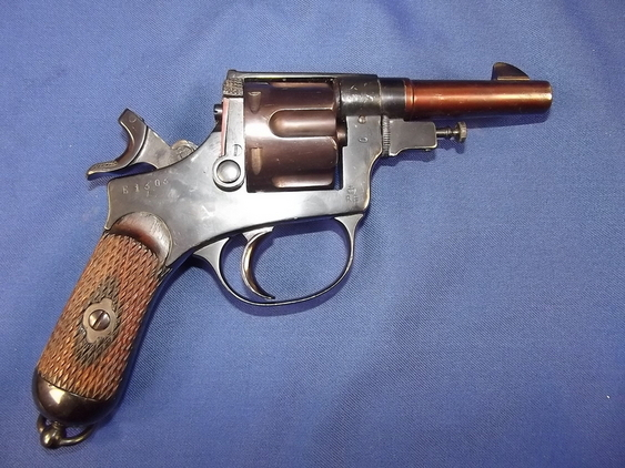 1922 Dated Italian Castelli Model 1899 Revolver  Pistol / Hand Guns