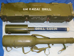 Shorts Blowpipe (man-portable surface-to-air missile tube) With High Impact Carr Complete, Falklands War Era, Inert Full Weight British WD & NATO Marked Drill Sh