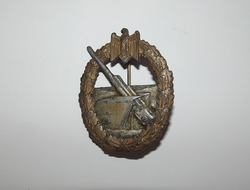 WW2 German Third Reich Kriegsmarine Coastal Artillery Badge