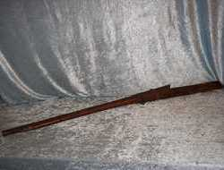 Early 19th Century Indian fortress Matchlock Musket Musket