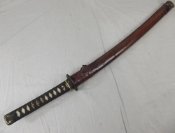 Early Shinto Period (1600-1764) unsigned Wakizashi Sword Blade  Swords
