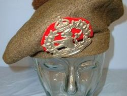 Canadian Scottish, Lorne Scots Regiment Tam O Shanter Bonnet War Dept Marked By  WW2 1942 Canadian Scottish, Lorne Scots Regiment Tam O Shanter Bonnet War Dept M