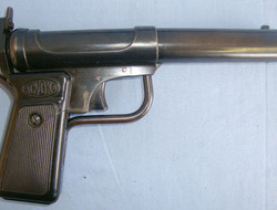 Accles and Shelvoke Ltd Break Action Air Pistol. 177 Air pistols