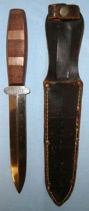 Case, U.S Soldier's Private Purchase Stiletto Fighting 'Sticking Knife' By Case   Blades