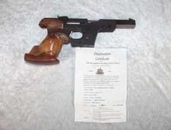 A New Specifications Deactivated Walther GSP Pi    Muzzleloader