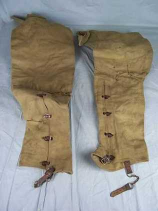 WW2 US Full Leg Gaiters  Accessories