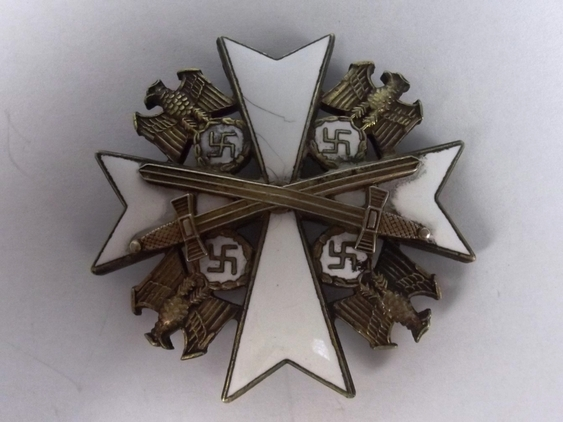 WWII 4th Class German Third Reich Order of the German Eagle  Accessories