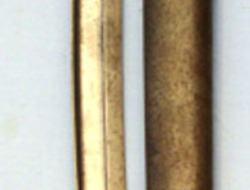 French M1842/59 Bayonet and Scabbard.  Bayonets