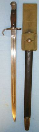 Sanderson British 1st Pattern, 1909 Dated Hook Quillon '07' Sword Bayonet By San  Blades