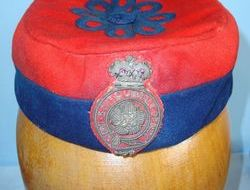 'A.J. White London 74 Jermyn Street St James London SW' together with Royal appo Royal Fusiliers Officer's Uniform Pill Box Hat With Regimental Badge By White Lo