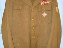 WW2 era Free Polish Army Uniform Service Dress Tunic Dress Tunic