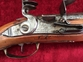 German made Military Flintlock Officer's Pistol by Johanes Kauchen. Ref 7596   Muzzleloader for sale