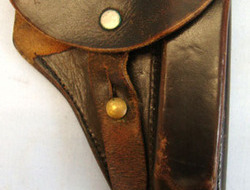 'Ortgies' 7.65mm Semi Auto Pistol Holster Nazi 'Ortgies' 7.65mm Semi Auto Pistol Holster