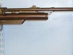 Webley / Webley & Scott 2nd Series/ Type .177 Calibre Air Rifle With Safety Catch. .177  Air Rifles