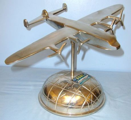 British Overseas Airways Corporation (BOAC) Avro York Transport Model Aircraft A Aluminium British Overseas Airways Corporation (BOAC) Avro York Transport Model  Accessories