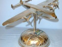 British Overseas Airways Corporation (BOAC) Avro York Transport Model Aircraft A Aluminium British Overseas Airways Corporation (BOAC) Avro York Transport Model