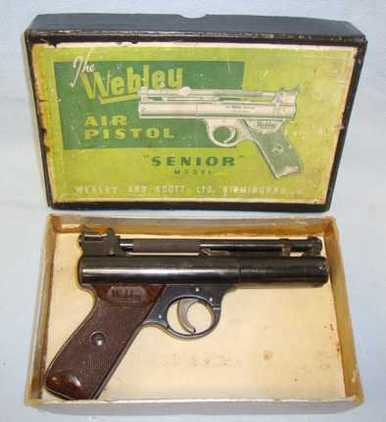 Webley / Webley & Scott senior Air Guns