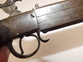19th Century Double Barrel Turnover Percussion Pistol    Muzzleloader